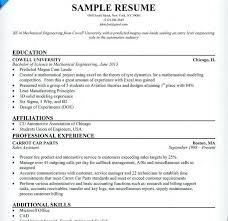 Sample Resume For Ojt Engineering Students 27 Unique Sample Resume