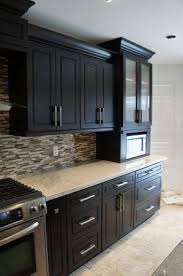 black cabinet pulls on gray cabinets. espresso maple cabinets | details for: solid wood maple espresso cabinets - hmmm.. cabinet kitchenkitchen hardwareespresso black pulls on gray n