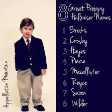 Preppy baby girl names