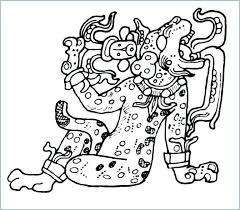 Mayan Coloring Pages Trustbanksurinamecom