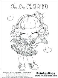 monster high printables coloring pages monster high