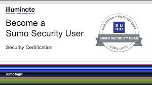 sumo logic security certification security analytics using sumo logic oct