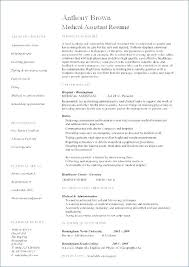 Sample Medical Assistant Resumes Resume Sample For Medical Assistant