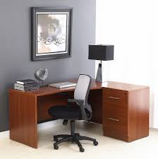 r crescent desk with  drawer file cabinet jesper