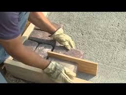 how to build a paver patio you