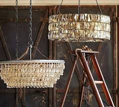 clarissa chandelier knock off chandeliers pottery barn chandelier pottery barn round