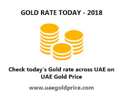 Gold Rate In Dubai Chart 2018 Gold Rate Chart In Uae Highest Lowest Gold Prices Uae
