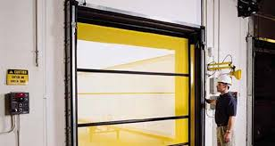 roll up garage door screenBugShield Roll Up Screen Dock Doors  RiteHite