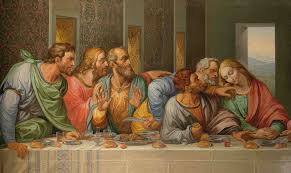 hanging in st rhcom the michelangelo painting the last supper last supperu painted by lorna may