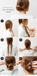 Hairstyle Easy Step By Step 20 cute and easy braided hairstyle tutorials 6434 by stevesalt.us