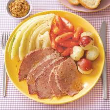 Cooking Light Corned Beef Cabbage Slow Cooker Corned Beef And Cabbage Recipe Myrecipes