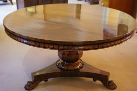 william iv rosewood circular centre dining table