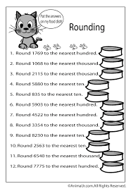 rounding worksheets - Google Search | Theophilus | Pinterest | Fun ...