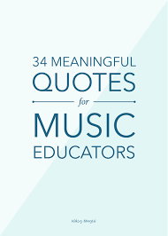 Also known as choral directors, choir directors lead and direct choirs during musical performances. 34 Meaningful Quotes For Music Educators Ashley Danyew