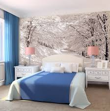 Charming Forest Themed Wall Murals