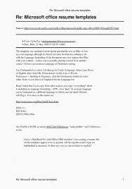 Microsoft Office 2003 Resume Templates Download Beautiful Microsoft