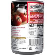 Campbells Condensed Tomato Bisque 11 Oz Walmart Com