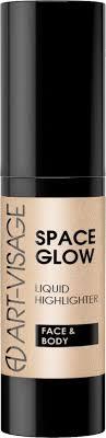 <b>Хайлайтер для лица</b> и тела Art-Visage Space Glow, тон 23 Sandy ...