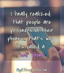 I Finally Realized That People Are Prisoners Of Their Phones