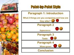 comparison contrast essay  concludeconclude 9