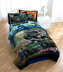 fire truck comforter bedding set bedroom cool black and blue monster twin engine tru fire truck bedding sets