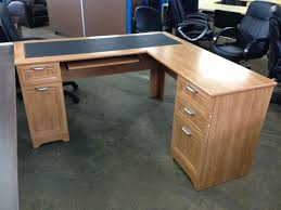 picture of l shaped desk 60 wide x 60 deep x