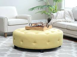 round tufted ottoman blue target ottomans coffee table teal adairs ottom