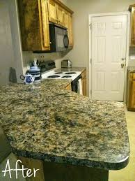 how to paint bathroom countertops to look like granite painted counters 9