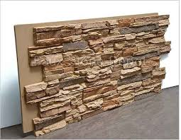 faux stone panels faux brick stacked