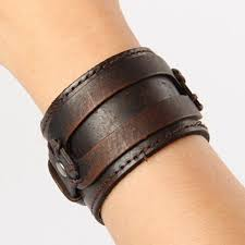 ancient rome style mens leather bracelets exaggerated knitted circular punk wide bracelet wristband cuff gifts wb011 14k charm bracelet silver jewelry from