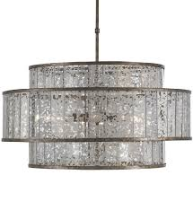 currey company 9454 fantine 8 light chandelier with pyrite bronze raj mirror undefined