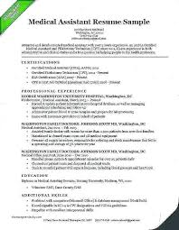 Front Office Medical Assistant Job Description Sample Resume Objective For Medical Office Assistant Administrative