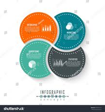 Circle Website Design Vector Circle Infographics Template For Round Chart Diagram