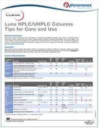 Luna Hplc Columns Phenomenex