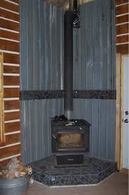 here is our wood stove