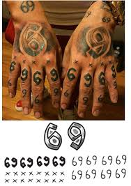 Bonus Pack Tekashi 6ix9ine Temporary Tattoos Includes Face Arm Chest And Stomach Tattoos