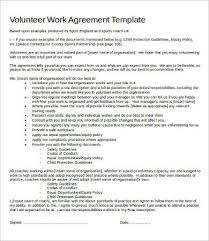 Work Agreement Template - East.keywesthideaways.co