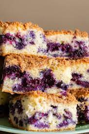 How to make a blueberry coffee cake with crumble topping? Blueberry Coffee Cake Vintage Recipe Tin