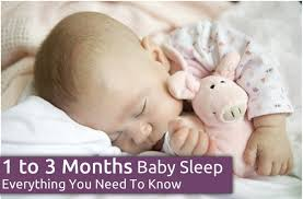 1 Month Old Baby Sleep Patterns