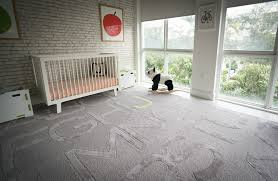 modern nursery with gray alphabet rug project nursery