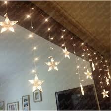 indoor string lighting. multicolor led star 100 indoor mini string lighting