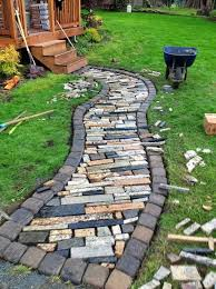 Small Picture Amazing DIY Landscape Design Best Diy Garden Paths Landscape
