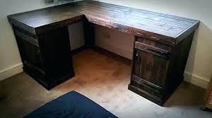 wooden corner desk. Desks:Wood Corner Desk Desks Love Top Wood Wooden Pallet Furniture Basement R