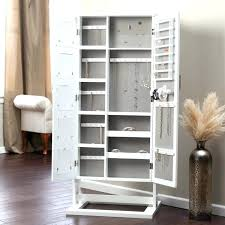 free standing jewelry armoire with mirror mirrors white mirror floor standing jewelry mirror floor standing jewelry