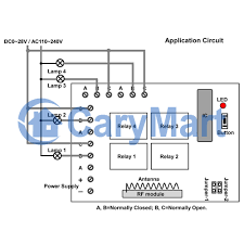how to remote control spot light this is the wiring diagram and wiring picture