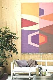 hanging rugs ideas as wall art in stable