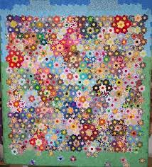 Paper Piecing Flower Hexagons And Other English Paper Pieced Quilts Quilting Gallery