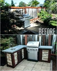 wood and brick outdoor kitchen images designs with big green egg amazing plans you can build