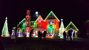 Christmas Lights Synchronized Christmas Lights In Park Ridge Il Youtube