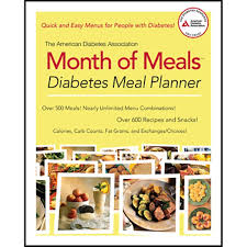 diabetes food menus the american diabetes association reg month of meals diabetes